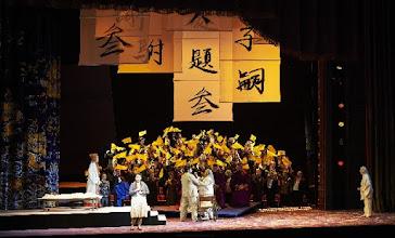 Photo: Wiener Staatsoper: TURANDOT. Inszenierung: Marco Arturo Marelli. Premiere 28.4.2016. Anita Hartig, Yussef Eyvazov. Copyright: Wiener Staatsoper/ Michael Pöhn