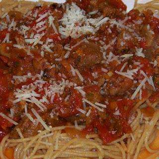 Easy Slow Cooker Spaghetti