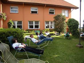 Photo: Descansando para a apresentação