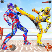 Ninja Robot Fighting Games – Robot Ring Fighting