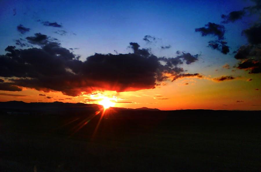 When the sun goes down ... by Darko Nachevski - Instagram & Mobile Android ( nature, sunset, sun )