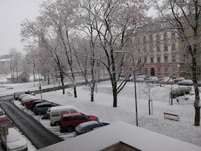 Photo: First snow.