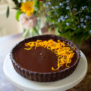 Chocolate Orange Tart.