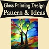 How To Glass Painting Design Pattern & Ideas Video