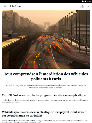 Le Monde, l'info en continu screenshot 9