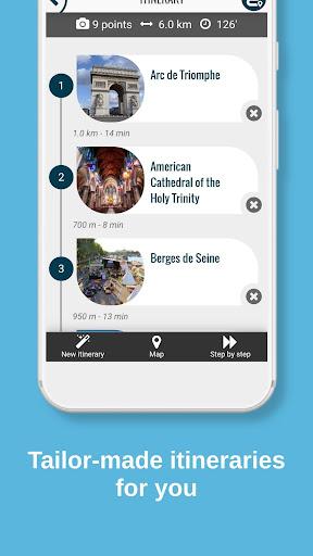 PARIS City Guide, Offline Maps and Tours screenshot 3