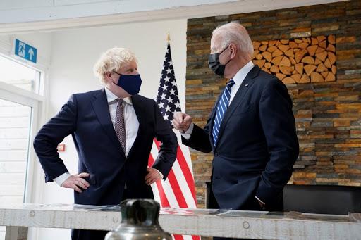 US president Joe Biden urges Boris Johnson to protect Northern Ireland peace process with 'deep sincerity'