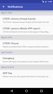 UTech Jamaica Mobile- screenshot thumbnail