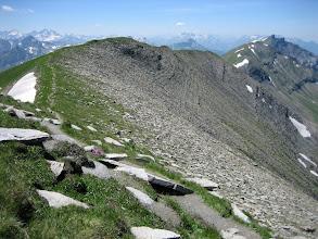 Photo: Sur les crêtes du Mont Joly
