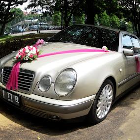 wedding car by Jumari Haryadi - Wedding Other ( car, other, happy, wedding, photo )
