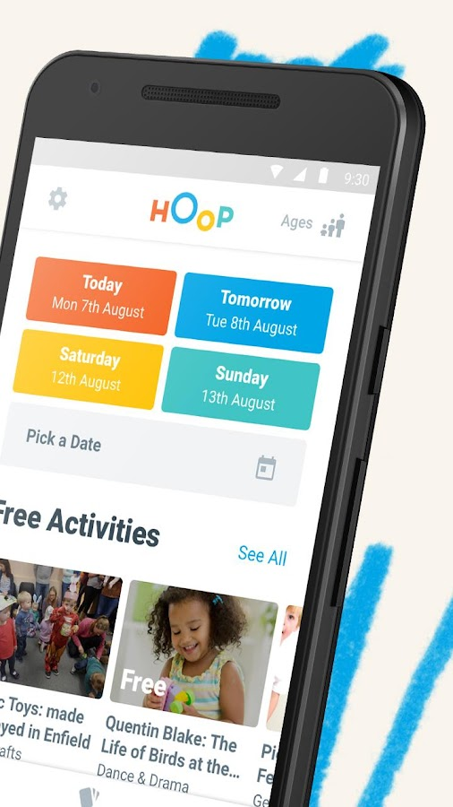 Hoop - What's On for Kids- screenshot
