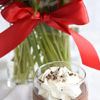 Simple Chocolate Mousse.