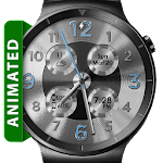 Brushed Silver HD Watch Face Icon