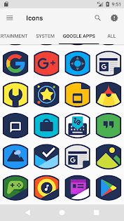 Yalix - Icon Pack app (apk) free download for Android/PC/Windows screenshot