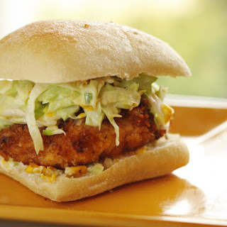 Our Version of Donnie Mac's Southern Fried Chicken Sandwich.
