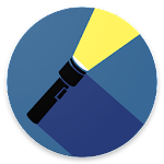 Best brightest SUPER AMOLED flashlight Icon