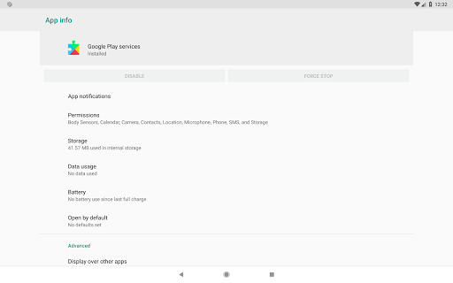 Play Services Info & Utility 2.5.1 screenshots 6