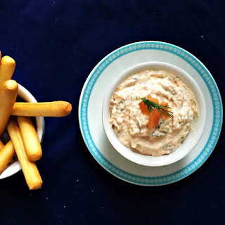 Smoked Salmon Pâté With Cream Cheese.