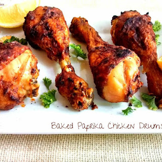 Baked Paprika Chicken Drumsticks