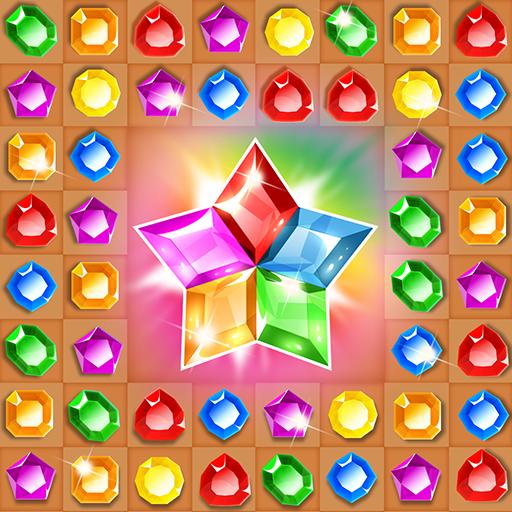 Treasure hunters match-3 gems (game)