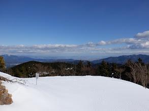林道カーブからの眺め(大垣方面)