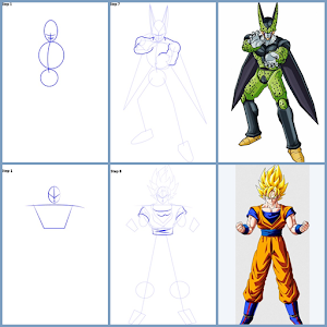 How to Draw Dragon Ball Characters for PC