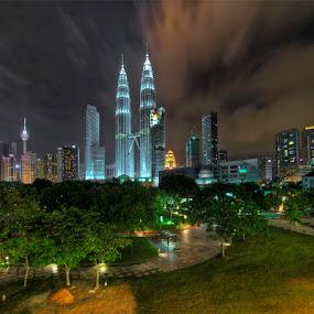 KLCC by Sham ClickAddict - Buildings & Architecture Office Buildings & Hotels
