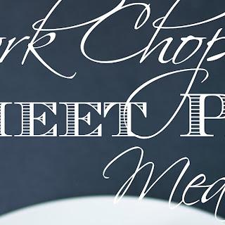Easy Pork Chop Sheet Pan Meal
