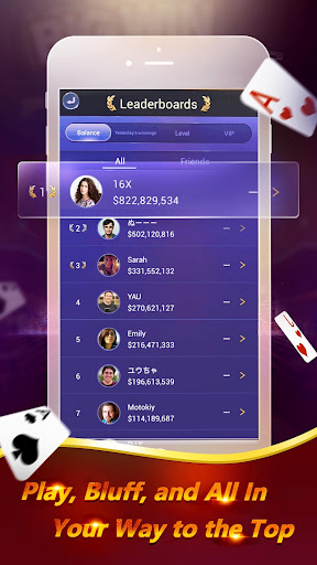 Pocket Poker Pro: One Handed. screenshot 4