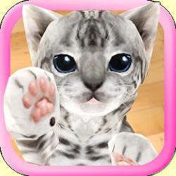3D Cute Cat Live Wallpaper