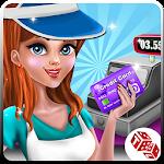 Shopping Mall Cashier Girl - Cash Register Games Icon
