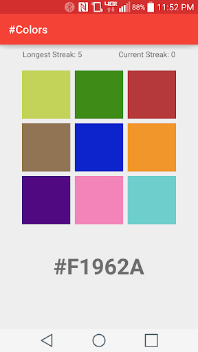 Colors: Hex Color Quiz