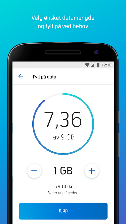 Mitt Telenor- screenshot