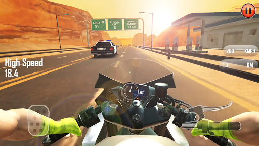 Real 3D Moto u2013 Moto Bike Racing | Traffic Rider  captures d'u00e9cran 1