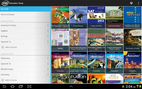 Intel® Education Study App- screenshot thumbnail