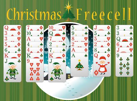 Christmas Freecell