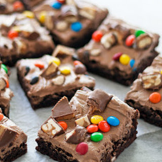 Trashed Up Halloween Brownies