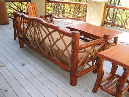 Rustic Outdoor Furniture - náhled