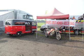 Photo: Putoline had ons uitgenodigd om op de Putoline MXperience day in Cuijk te komen.....een motorcross dag voor Putoline oil dealers...natuurlijk namen wij onze Goldwing GL 1500 crosser mee!