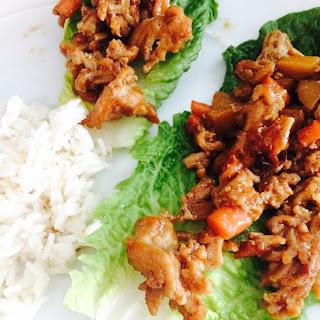 Chicken Romaine Lettuce Wraps Recipes