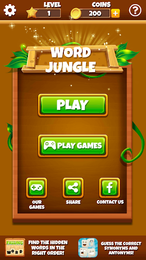 Word Jungle - FREE Word Games Puzzle - screenshot