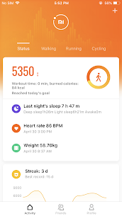 Mi Fit App Download For Android and iPhone 1