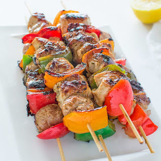 Easy Chicken Kebabs.