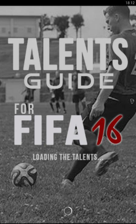 Talents - for FIFA 16- screenshot