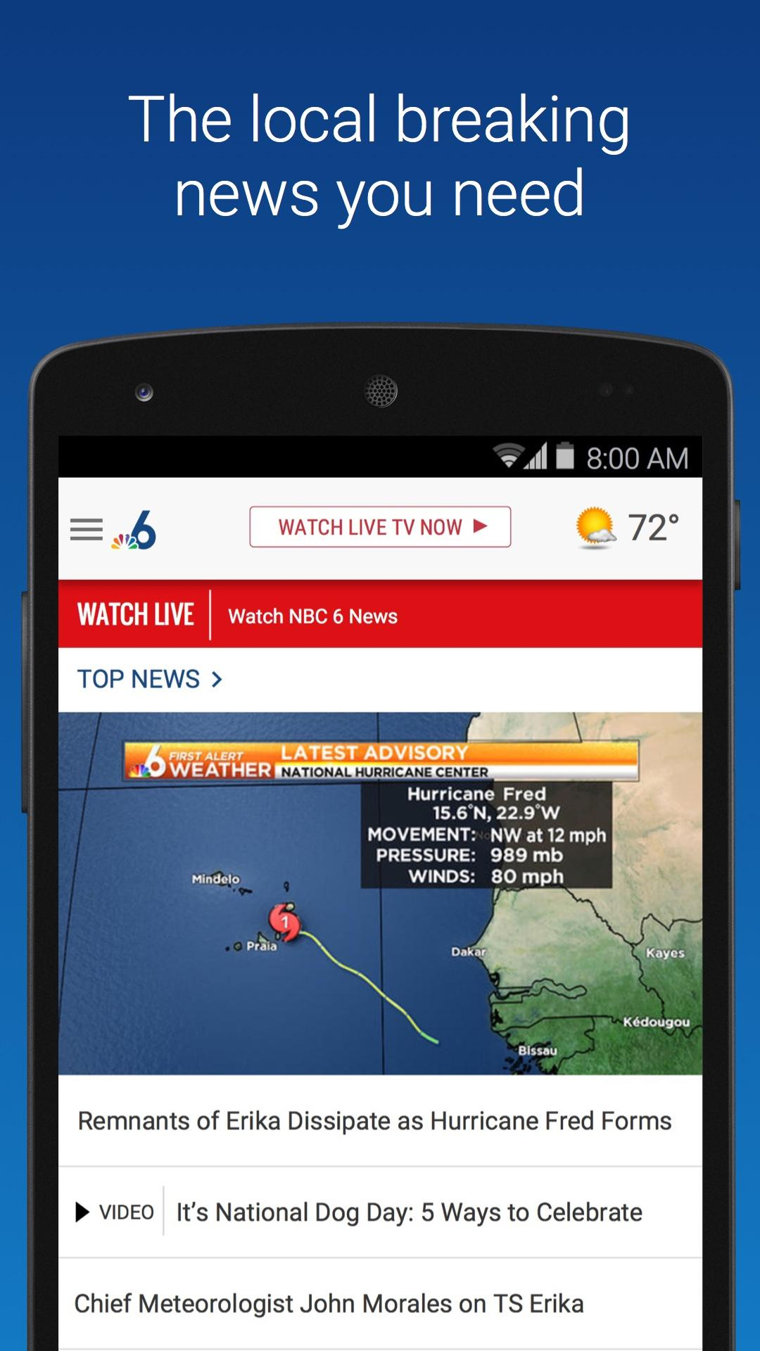 NBC 6 South Florida (Android) reviews at Android Quality Index
