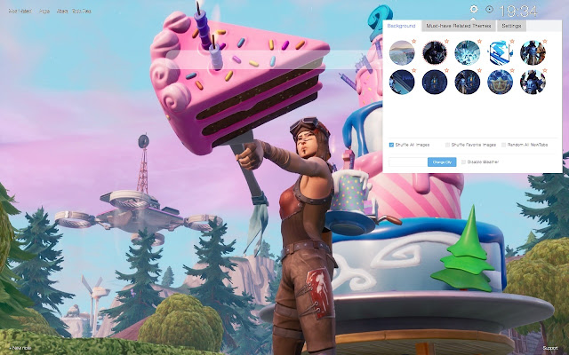 Fortnite 2nd Birthday Wallpapers New Tab