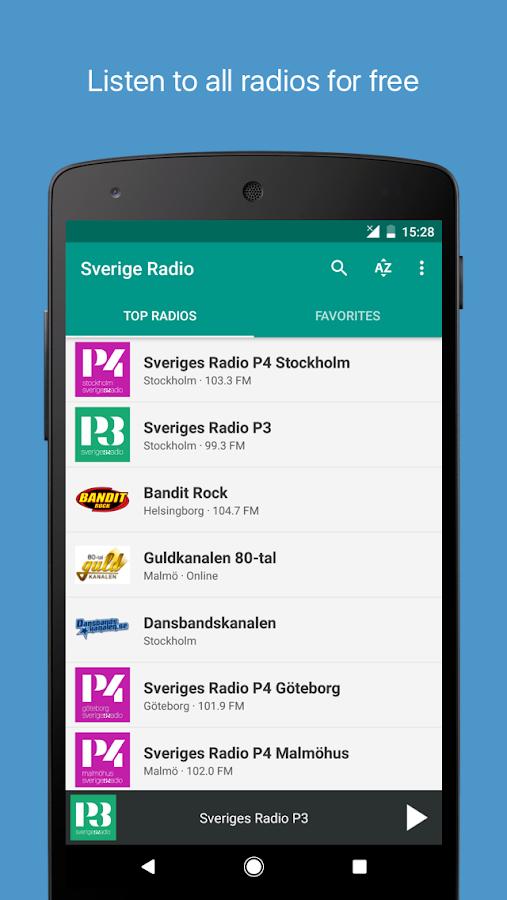 fm radio sverige