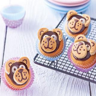 Knuffelbeer Cupcakes