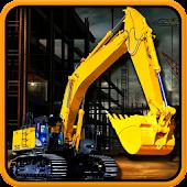 Real Excavator Crane Simulator