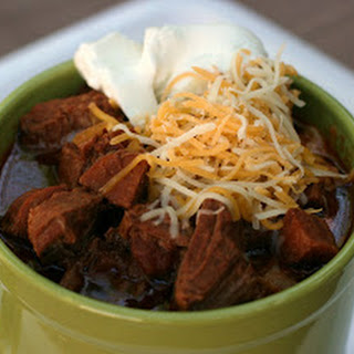 Meat Lover's (No Bean) Chili.